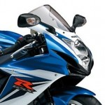 GSX-R600 2012年モデル Metallic Triton Blue/ Glass Splash White