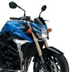2012年モデル GSR750 Metallic Triton Blue/ Glass Sparkle Black